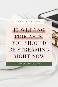 These are the best podcasts for women who are looking for book writing tips and ideas. Kate, a writing life coach and book editor, has put together a list of 10 podcasts you should be streaming for creative writing inspiration and ideas. Head to the blog to learn more. | #writing #podcast #writingtips