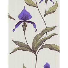 Buy Cole & Son Orchid Wallpaper, Violet, 66/4024 Online at johnlewis.com