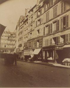 Coin de la rue de l'Arbre-Sec, du côté de la rue Saint-Honoré. Une photo…