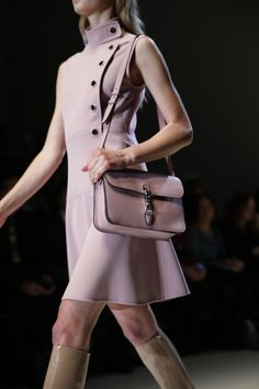 Gucci Women's FW 2014-2015 Runway Show  STILL SHOWING OFF THE PASTEL TREND