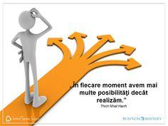 Înainte să te plângi de o problemă, ia-ți timp și găsește-i soluțiile. Orice problemă are cel puțin două soluții. smile emoticon O zi productivă să ai!