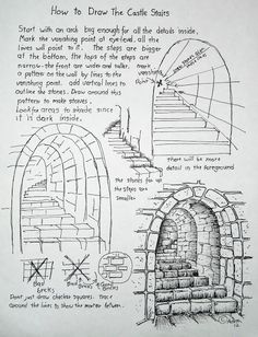 How To Draw Stone Stairs (scheduled via http://www.tailwindapp.com?utm_source=pinterest&utm_medium=twpin&utm_content=post1340063&utm_campaign=scheduler_attribution)