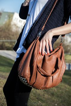 Pretty brown purse