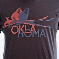 I would for sure rep Oklahoma with a sweet scissortail shirt from www.shopgoodokc.com.