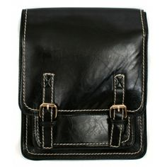 Black Stitch Satchel Backpacks for Women
