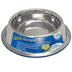 OurPets Durapet Non-Tip Dog Bowl, Extra Large Our Pets http://smile.amazon.com/dp/B005146P1S/ref=cm_sw_r_pi_dp_T40xvb0RYJXCB