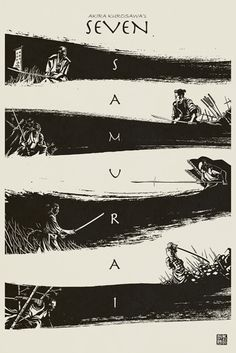 Seven Samurai by Kevin Ang
