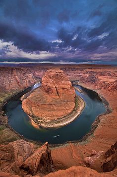 Horseshoe Bend, Glen Canyon Dam and Lake Powell within Glen Canyon National Recreation, Arizona