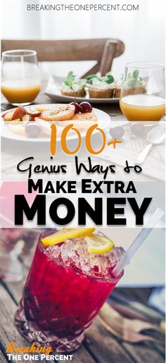 Looking for the best ways to make extra money? From the quick buck online, to easy side hustle and profitable business ideas, here's a list of 113 ways to earn extra cash. Earn More Money, Earn Money From Home, Earn Money Online, Way To Make Money, Cool Things To Make, Online Jobs, Online Income, Earn Extra Cash, Making Extra Cash
