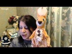 Рукоделие. Анастасия Голенева. Секреты создания авторской выкройки текстильной игрушки ▲ - YouTube
