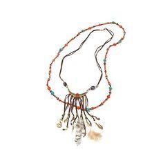 Fashion Jewelry Necklaces & Pendants Hsn Bajalia Bib Necklace Warrior Chain 2-tone Attractive Fashion