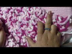 DIY CROCHET BATH MAT DE DEDO - YouTube