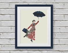 BOGO FREE Mary Poppins Cross Stitch Pattern Quote von StitchLine