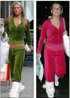 Velour #Tracksuits is one of the fashion disasters in history.