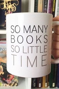 The struggle is all too real. So many books, so little time. But we still love to savor every page and and every chapter! Here's to never running out of books! Get this cute mug from Redbubble.