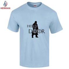 Men-s-Hodor-Fashion-Printed-T-shirt-2016-Summer-Clthing-Sport-Loose-T-shirt-Hip-Hop (2) #gameofthrones