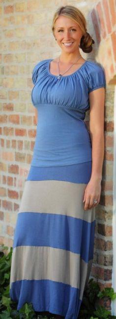 8893cbc9ba Maxi Days Skirt   Seagull Book Modest Outfits