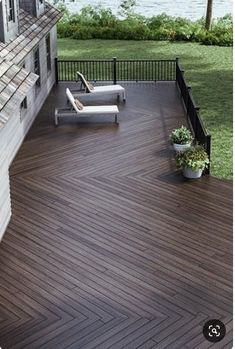 backyard deck ideas deck (wonderful diy backyard and deck design) Backyard Patio, Backyard Landscaping, Patio Planters, Patio Wall, Backyard Chickens, Landscaping Ideas, Wood Deck Designs, Wood Decks, Deck Colors