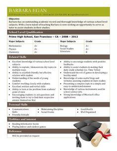 student tutor cv sample free resume template by hloomcom