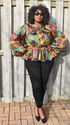 Fashion-Forward Ankara Styles at Diyanu Plus Size Fashion Blog, Curvy Fashion, Girl Fashion, Womens Fashion, African Attire, African Wear, African Style, African Design, African Dress