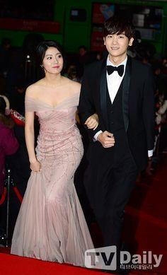 2014 KBS Drama Awards » Nam Ji-hyun and Park Hyung-shik