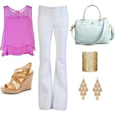 Summer Outfit, created by ashhendricks on Polyvore