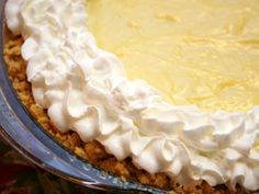 When it comes to Thanksgiving, Banana Cream Pie would without a doubt be a winner among your dessert display. Just saying.
