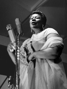 Find Ella Fitzgerald bio, music, credits, awards, & streaming radio on AllMusic - The greatest female interpreter of the American… Jazz, Ella Fitzgerald, After Movie, Interesting Faces, Best Songs, Famous Artists, Biography, Movie Stars, Blues