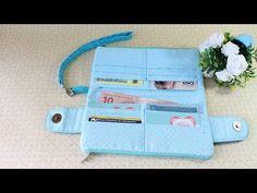Como fazer uma bolsa carteira com Arte de Paninho - YouTube