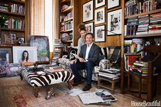 Sonia Kashuk and Daniel Kaner's Library Oasis