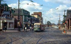 Capturing late 1960s Philadelphia–Trolleys, Neon, Cobblestones and All