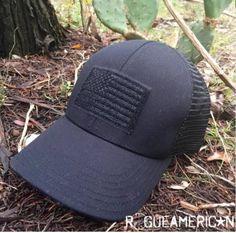 Black Flag Mesh Back Hat - ROGUE AMERICAN
