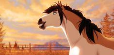 Spirit Horse Movie, Spirit The Horse, Horse Drawings, Animal Drawings, Horse Movies, Hair Sketch, Pretty Animals, Spirited Art, Unicorn Art