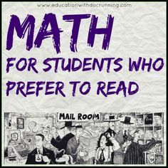 "If you haven't discovered the Murderous Maths series, it is a great addition to your middle and high school math classroom. Key to getting the less ""mathy"" students engaged with math concepts. Read more on the blog post..."