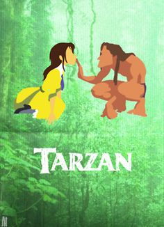 Tarzan. Awww this is adorable. And I can't even say how much I love this movie :)