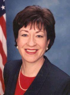 Susan Margaret Collins (R-ME), US Senator, 1997-present