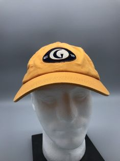 24887f19e7a77 Golf Channel G Logo Est 1995 Yellow Embroidered baseball hat cap Adjustable   fashion  clothing