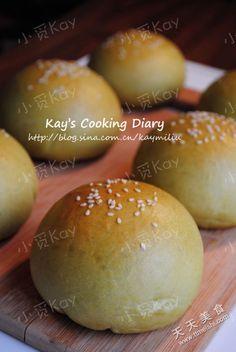 抹茶地瓜包的菜谱图片