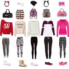 I would wear any of these outfits for a long flight