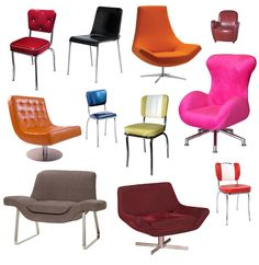1950 s chairs | Retro chairs by simplyuse on DeviantArt