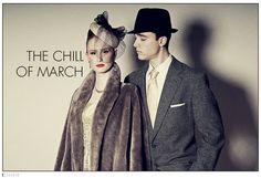 """Cold Souls""  Stylist: Denise Hatzis  Photographer: Mikey Pozarik"
