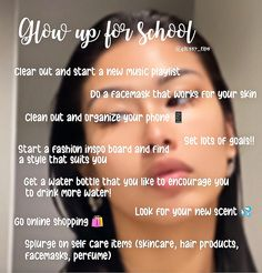 Beauty Tips With Honey, Beauty Tips For Glowing Skin, Back To School Glo Up, Challenge For Teens, Teen Life Hacks, The Glow Up, Day Glow, Glow Up Tips, Baddie Tips