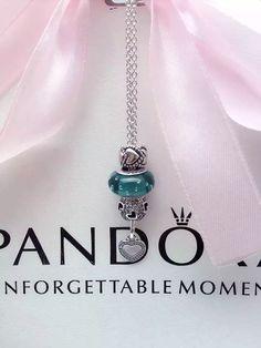50% OFF!!! Pandora Charm Necklace. Hot Sale!!! SKU: CN01006 - PANDORA Necklace Ideas On BraceletGifts.com