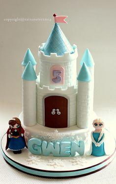 1 Frozen Castle Cake