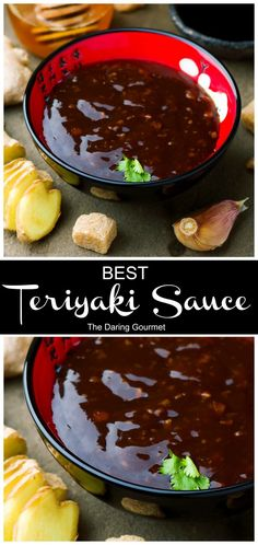 BEST Teriyaki Sauce Ready in 10 minutes and crazy delicious, you'll never use store-bought again! The post BEST Teriyaki Sauce appeared first on Gastronomy and Culinary. Best Teriyaki Sauce, Homemade Teriyaki Sauce, Homemade Sauce, Recipe For Teriyaki Sauce, Teriyaki Marinade, Brown Sugar Sauce Recipe, Asian Bbq Sauce, Chicken Teriyaki Sauce, Chicken Sauce