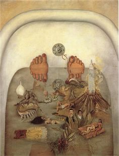 What the Water Gave Me, 1938 Frida Kahlo - WikiArt.org