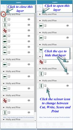 The Non-Crafty Crafter: CRICUT: What's new in Design Space 2 - part 3