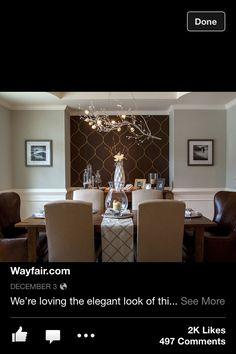 Dining room paint idea