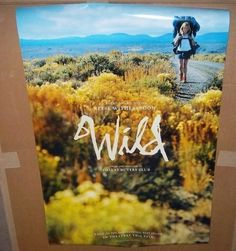 "WILD w/ Reese Witherspoon Original Movie Poster, 27""x 40"" Size, Two Sided Image"
