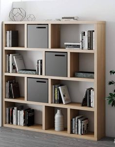 Office Room Design Home Bookshelves Diy, Bookcase Design, Bookcase, Shelves, Cheap Bedroom Furniture, Space Saving Furniture, High Gloss Furniture, Contemporary Furniture, Room Design